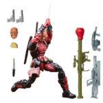 Deadpool Action Figure Chimichanga Marvel Legends X Men Juggernaut Series 6 Inches 2