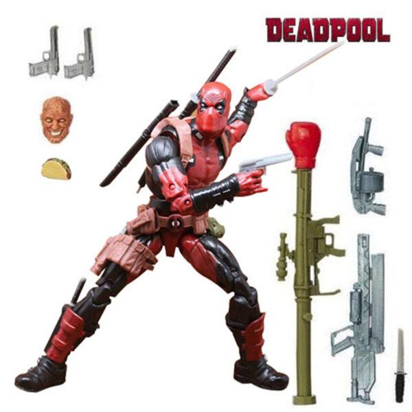 Deadpool Action Figure Chimichanga Marvel Legends X Men Juggernaut Series 6 Inches