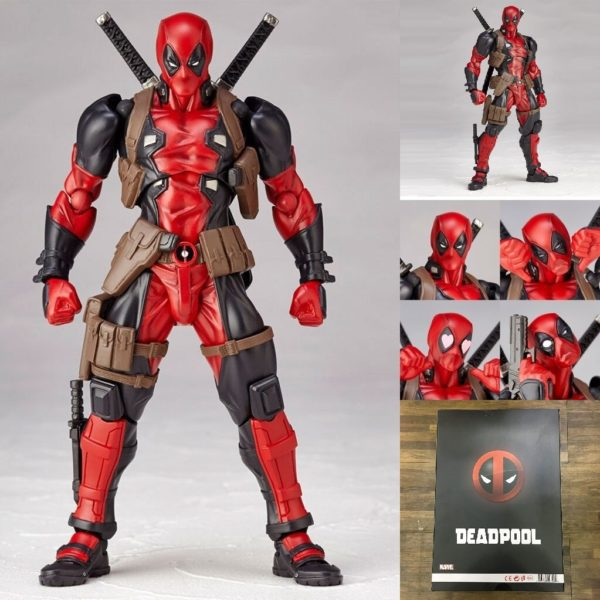 Deadpool Action Figure Marvel Legends Series Collectible 6 Inches 51