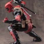 Deadpool Classic Suit Statue Marvel Collectible 7 Inches 18cm 4