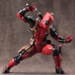 Deadpool Classic Suit Statue Marvel Collectible 7 Inches 18cm 5