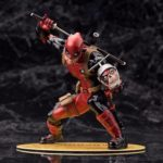 Deadpool Classic Suit Unmasked Statue Marvel Collectible 7 Inches 18cm 1