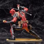 Deadpool Classic Suit Unmasked Statue Marvel Collectible 7 Inches 18cm 4