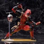 Deadpool Classic Suit Unmasked Statue Marvel Collectible 7 Inches 18cm 5
