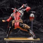 Deadpool Classic Suit Unmasked Statue Marvel Collectible 7 Inches 18cm 6