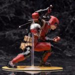 Deadpool Classic Suit Unmasked Statue Marvel Collectible 7 Inches 18cm3