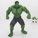 Red and Green Hulk Action Figure Collectible Comicon 10 Inch 6