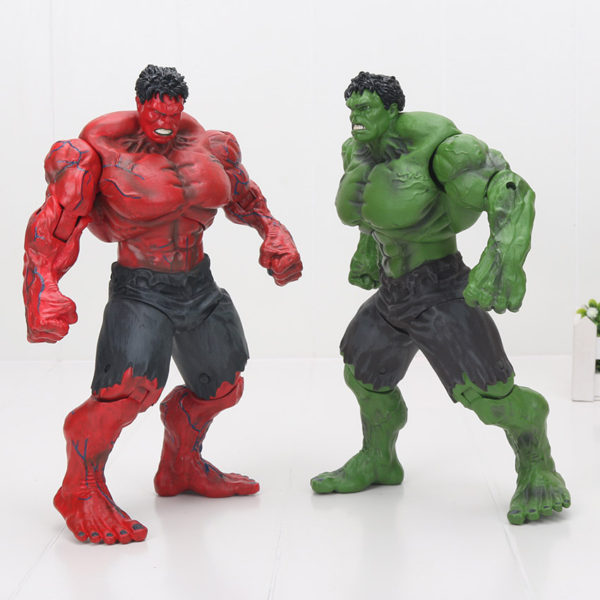 "10/"" Marvel Universe Avengers action Figure Incredible RED HULK Collection"