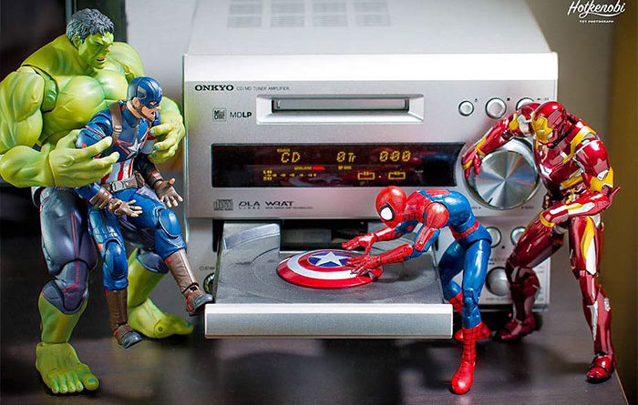Toys Figure Marvel Spider Man Hulk Captain America Legends Iron Man