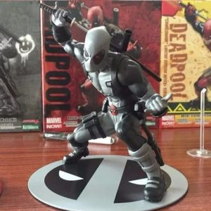 Deadpool X Force Silver Suit Statue Marvel Collectible 7 Inches 18cm 8