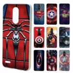 Marvel Comics Captain America and  Spider Man Phone Case for LG (15 Designs)