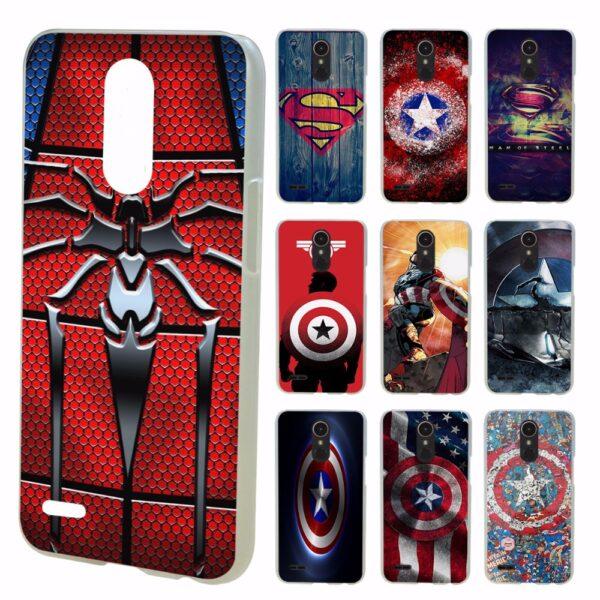 Marvel Comics Captain America And Spider Man Phone Case