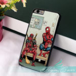 Deadpool and Spiderman Funny Images Phone Case for iPhone and iPod Touch (8 Styles) 1