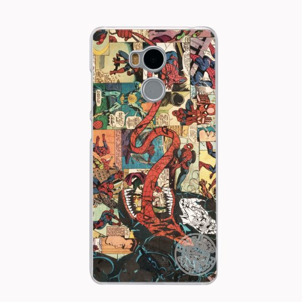 Marvel Heroes Phone Case for Xiaomi redmi 4 4A 1 1s 2 3 3s  pro redmi note 4 4X 2