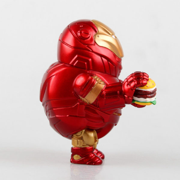 Iron Man Fat Figure Marvel Action Mark Series Avengers Funny New Toy5