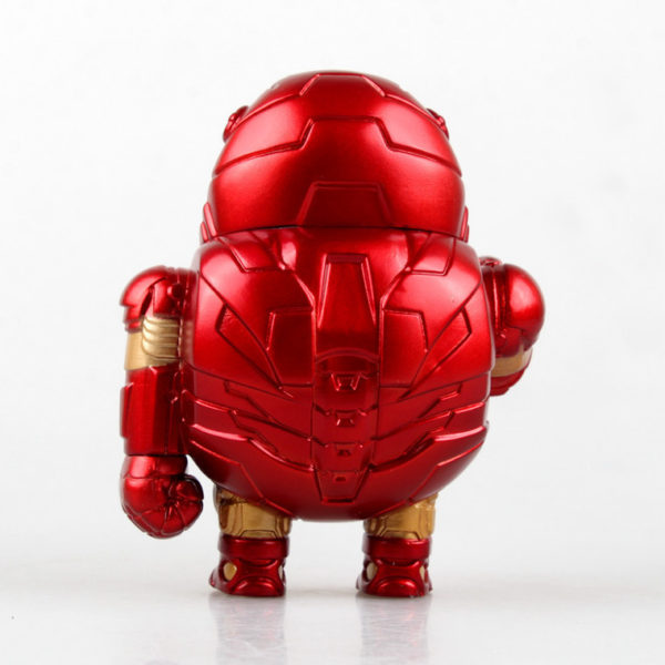 Iron Man Fat Figure Marvel Action Mark Series Avengers Funny New Toy8