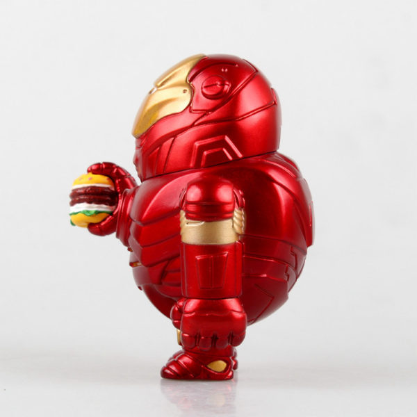 Iron Man Fat Figure Marvel Action Mark Series Avengers Funny New Toy7