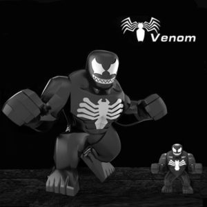Venom Mini Building Figure Decool Hero 2.7 inch 7cm