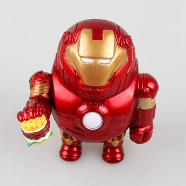 Iron Man Fat Figure Marvel Action Mark Series Avengers Funny New Toy3