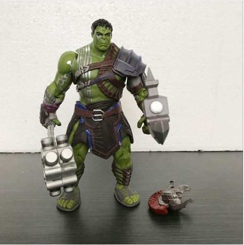 Hulk Action Figure Gladiator Collectible Movie Thor Ragnarok 8 Inch 4