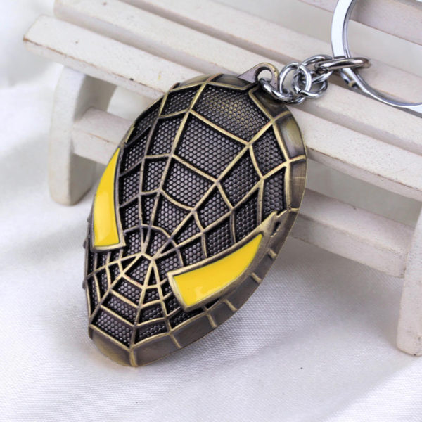 Spider Man The Amazing Keychain Metal (4 Designs) 4