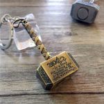 Thor Hammer Keychain (2 Colors) 1