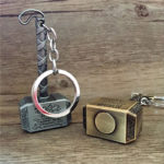 Thor Hammer Keychain (2 Colors) 3