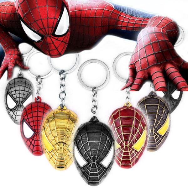 Spider Man The Amazing Keychain Metal (4 Designs)