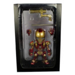 Iron Man Figure Tony Stark with LED Light and Voice Control 5 inch 1