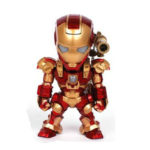 Iron Man Figure Tony Stark with LED Light and Voice Control 5 inch 2