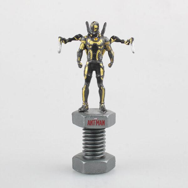 Marvel Avengers Ant Man Wasp Yellow Jacket Mini Statues (4 designs) 5