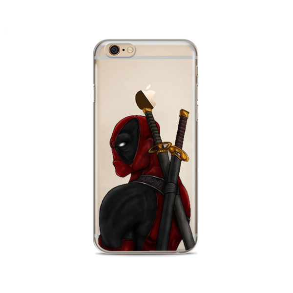 Deadpool Faces Phone Cases For iphone (8 Styles) 4