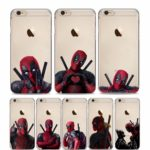 Deadpool Faces Phone Cases For iphone (8 Styles)