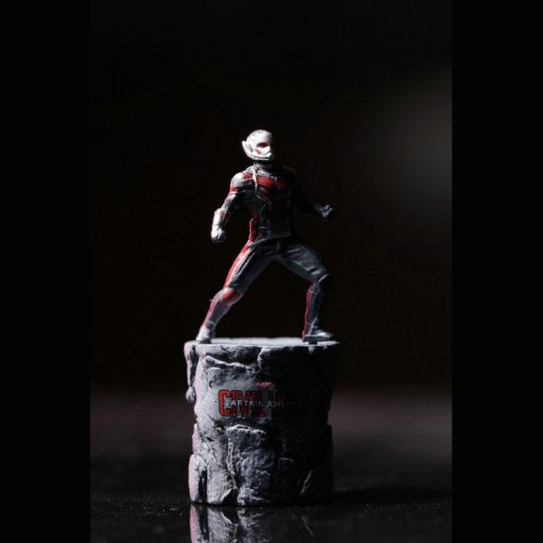 Marvel Avengers Ant Man Wasp Yellow Jacket Mini Statues (4 designs) 2