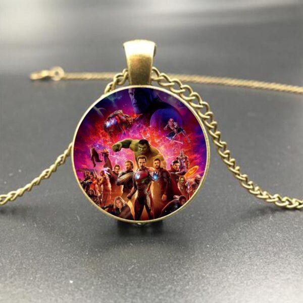 Marvel Avengers Infinity War Heroes Eye of Agamotto Necklace Pendant (4 Designs) 2