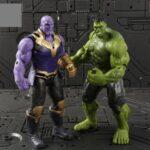Avengers Infinity War Basic Action Figures Hulk Thanos Ant Man Falcon Vision Thor Spider Man Bucky Captain America Iron Man Set of 8 Figures