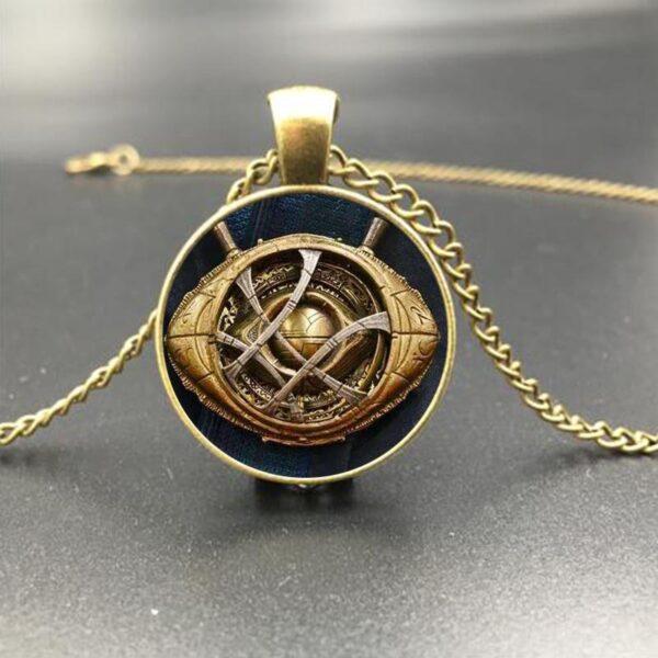 Marvel Avengers Infinity War Heroes Eye of Agamotto Necklace Pendant (4 Designs) 1