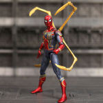 Spider Man Iron Spider Suit With Legs (Exoskeleton Armor) Avengers Infinite War Movie Action Figure 6.5inch