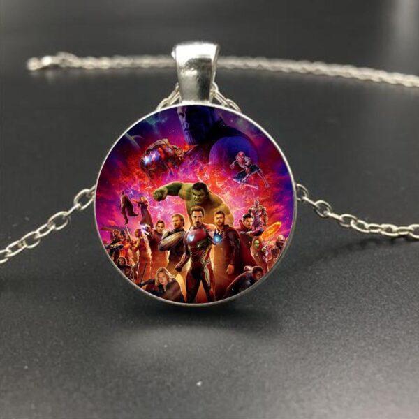 Marvel Avengers Infinity War Heroes Eye of Agamotto Necklace Pendant (4 Designs) 3