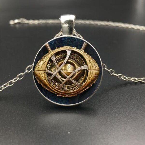 Marvel Avengers Infinity War Heroes Eye of Agamotto Necklace Pendant (4 Designs)