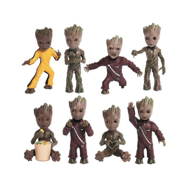 Baby Groots Keychains and Necklaces Pendants Guardians of The Galaxy2