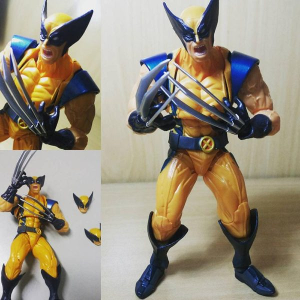 Wolverine Logan Action Figure X Men Classic Collectible Limited Edition 6inch7
