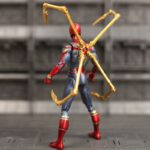 Spider Man Action Figure Iron Spider Suit With Legs r) A inch 4-ed