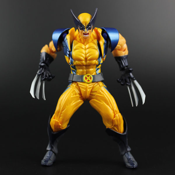 X-Men Wolverine Logan Marvel Classics Old Suit Action Figure 6inch3