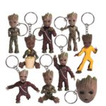 Baby Groots Keychains and Necklaces Pendants Guardians of The Galaxy