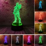 2.- Iron Man Bulbing Night Lamp Multi Color Changing 3D LED Lights (9 Different Lamps)