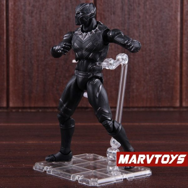 Black Panther Action Figure Captain America Civil War Edition 6inch 2