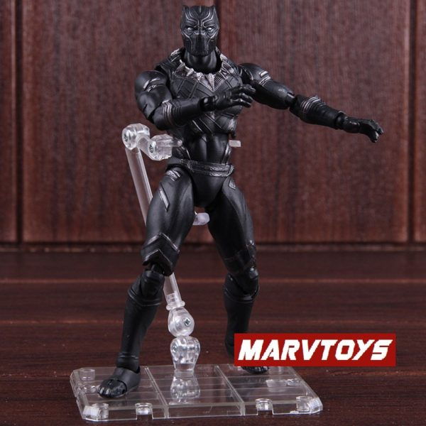 Black Panther Action Figure Captain America Civil War Edition 6inch 6