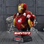 Iron Man Avengers MARK 7 Bust Figure with LED Light 9inch1