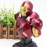 Iron Man Avengers MARK 7 Bust Figure with LED Light 9inch4